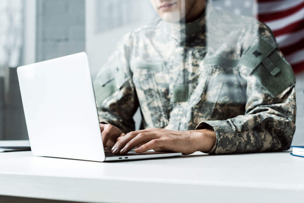 Military business accounts