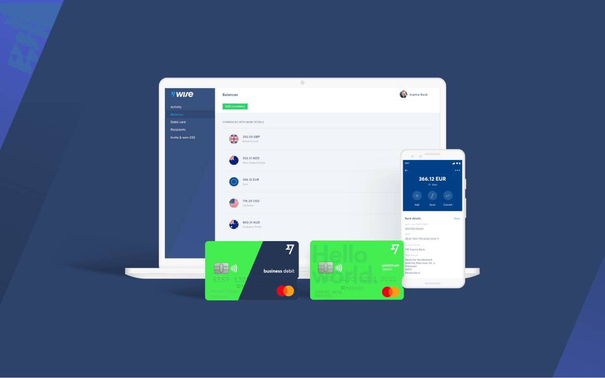 Wise-multi-currency-account