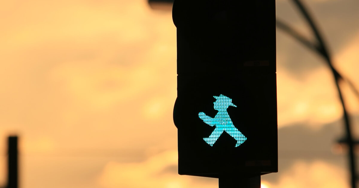 german traffic light
