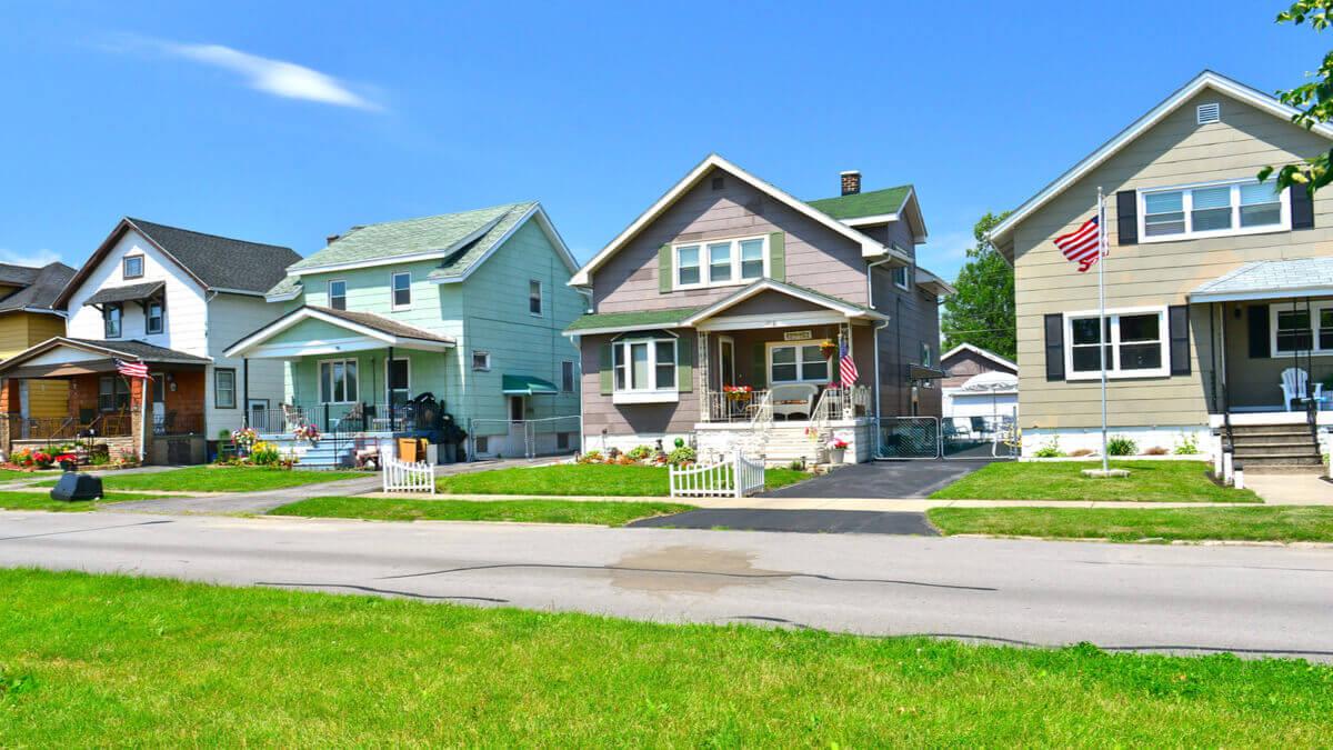 Häuser in den USA