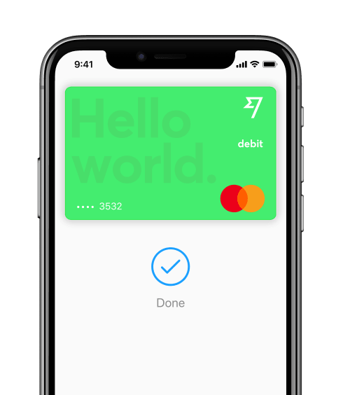 Phone with Apple Pay
